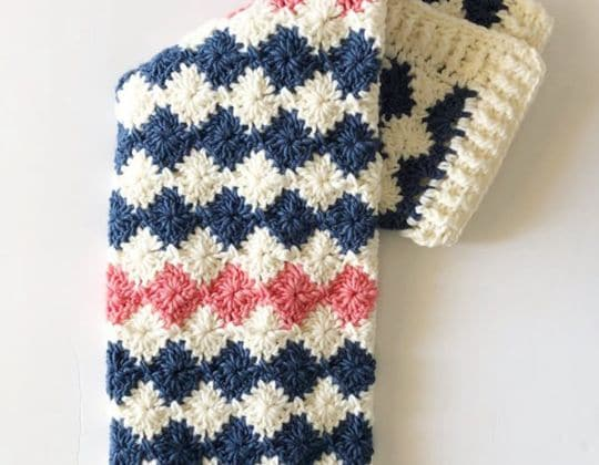 crochet Unicorn Baby Blanket Pattern