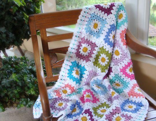 Daisy Crochet Blanket Pattern
