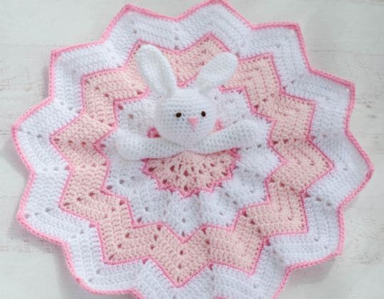 Crochet A bunny to love Blanket