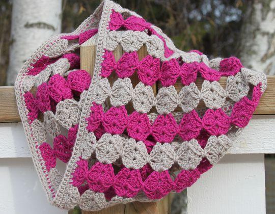 Crochet Circlet Cowl Pattern