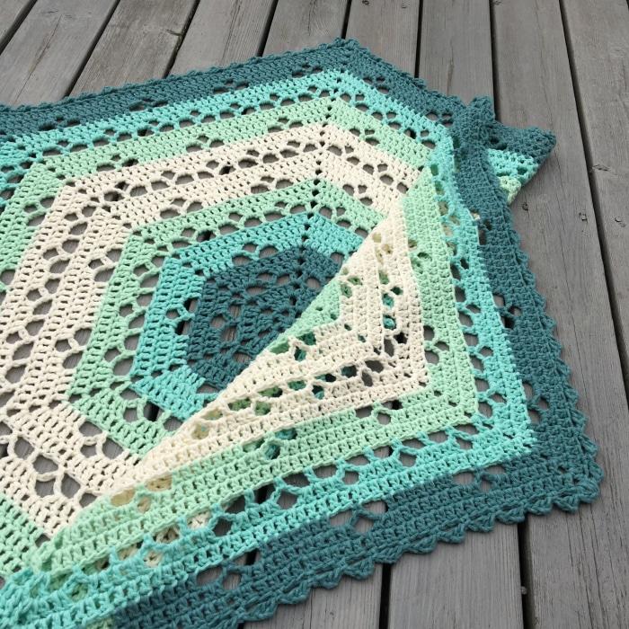 Crochet Cloudberry Blanket Pattern
