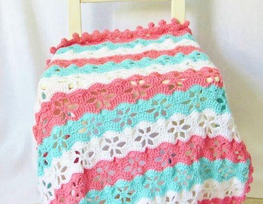 Crochet Twinkling Stars Blanket Pattern