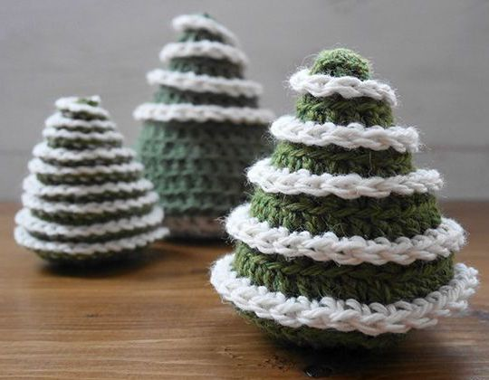 Easy crochet Christmas Tree free pattern