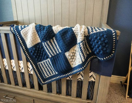 crochet The Sweet Granny Baby Blanket Pattern
