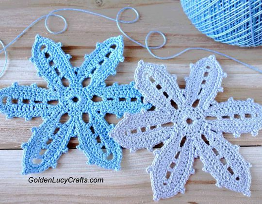 Crochet Irish Crochet Flower Free Pattern