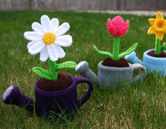 Crochet May Flowers Free Pattern
