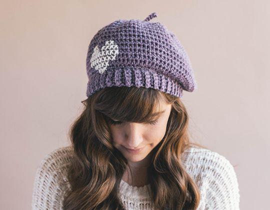 Crochet Parisienne Beret Free Pattern