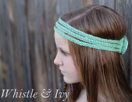 Crochet Boho Crochet Headband pattern