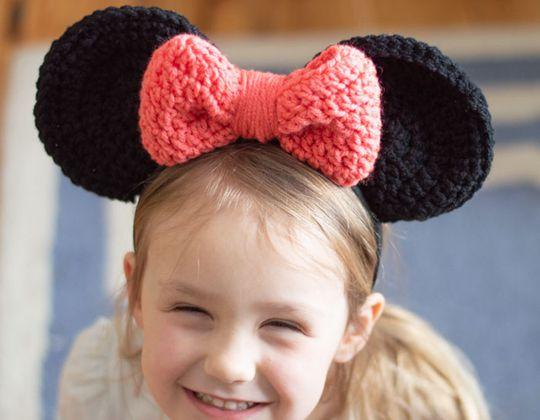 Crochet Mouse Ears free pattern