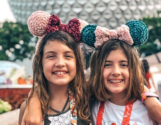 Crochet Velvet Mouse Ears pattern