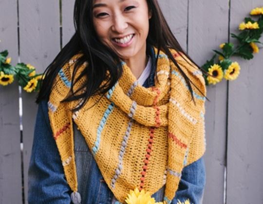 Crochet Farmers Market Wrap free pattern