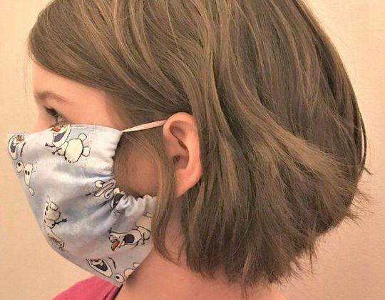 DIY Surgical Mask free sewing pattern