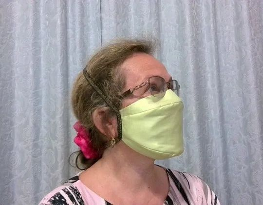 Simple Fabric Mask FREE sewing pattern