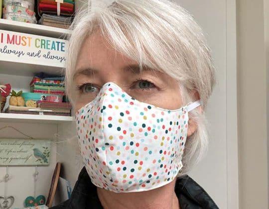 Versatile Face Mask free sewing pattern