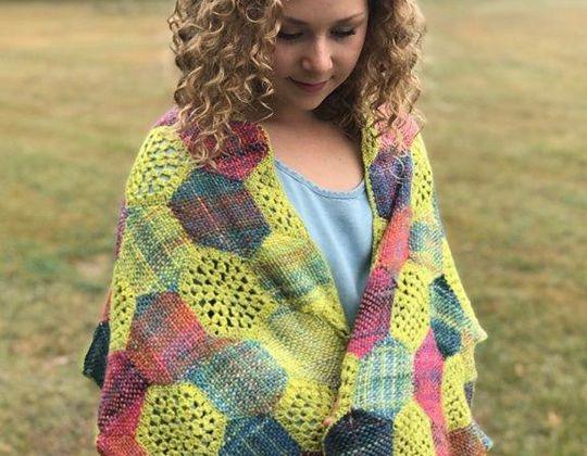 Crochet Celebration Shawl free pattern