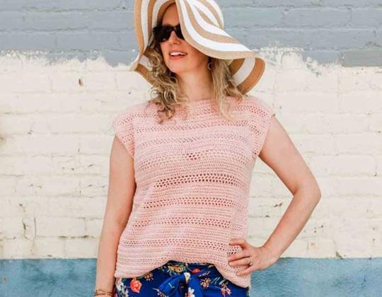 Crochet Lightweight Crochet Top free pattern