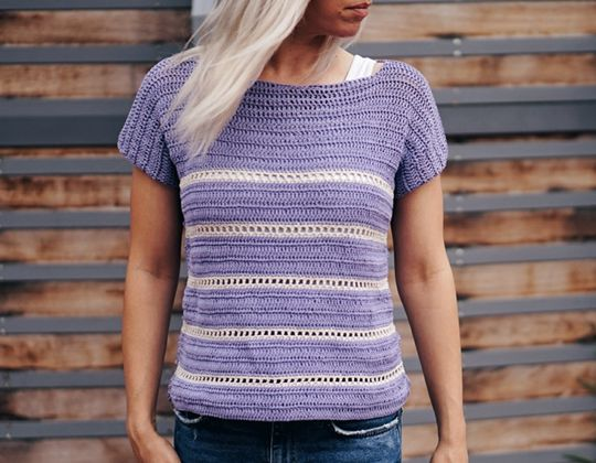 Crochet  Riviera Top free pattern