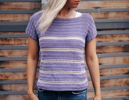 Crochet  Riviera Top free pattern