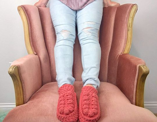 Crochet Crafty Boho Slippers free pattern