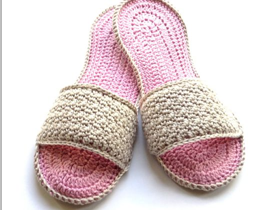 Crochet Day Spa Slippers free pattern