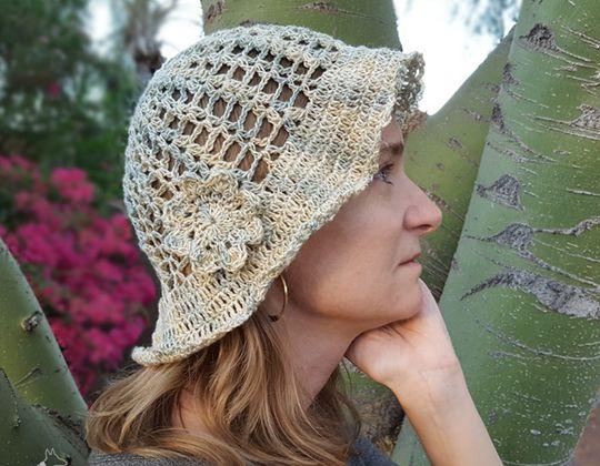 Crochet Hazy Daze Hat free pattern