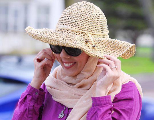 Crochet Hometown Honey Sunhat free pattern