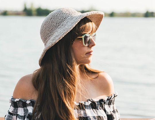 Crochet June Sun Hat free pattern