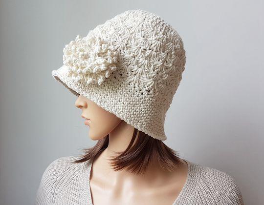 Crochet Soft Cotton Sunhat free pattern