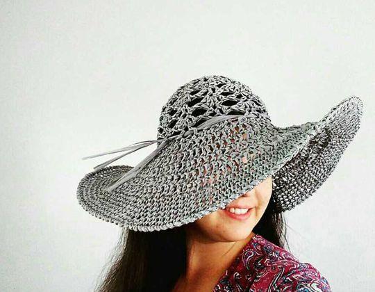 Crochet The Salt Grass Hat free pattern