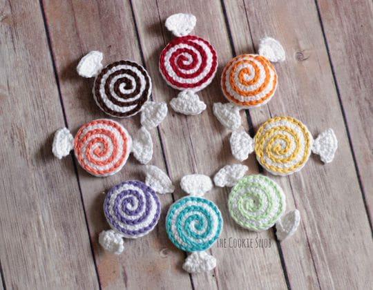Crochet Candies free pattern - Crochet Pattern for Halloween