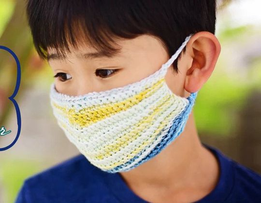 Crochet Face Mask with Liner free pattern - Crochet Pattern for Face Mask
