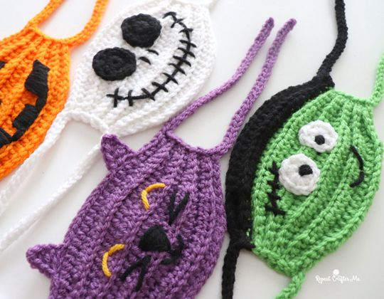 Crochet Face Mask Face Masks free pattern - Crochet Pattern for Face Mask