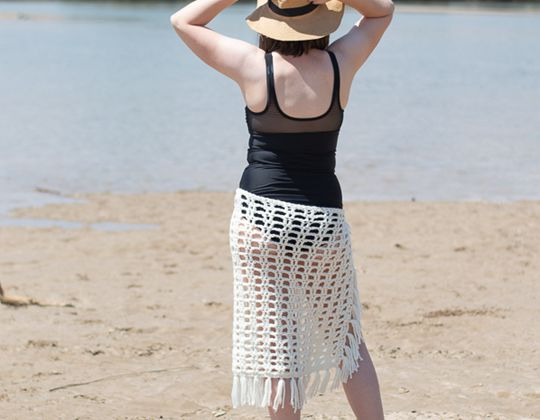 Crochet Sarong Beach Cover-Up free pattern