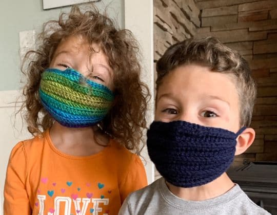 DIY Crochet Face Mask Tutorial free pattern - Crochet Pattern for Face Mask