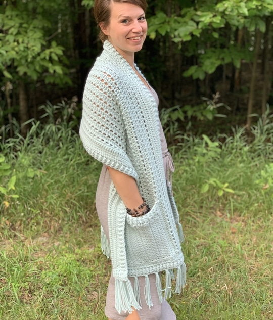 Crochet The Gotto Godda Wrap free pattern - Crochet Pattern for Pocket Shawls