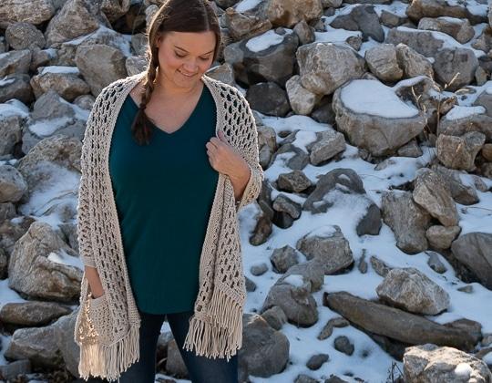 Crochet The Wanderlust Shawl free pattern - Crochet Pattern for Pocket Shawls