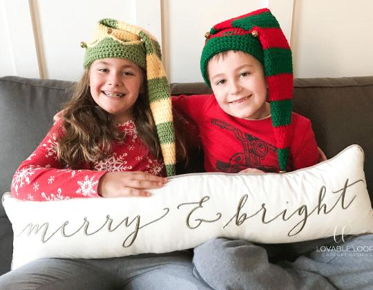 Crochet Elf Hat free pattern - Crochet Pattern for Christmas Beanie